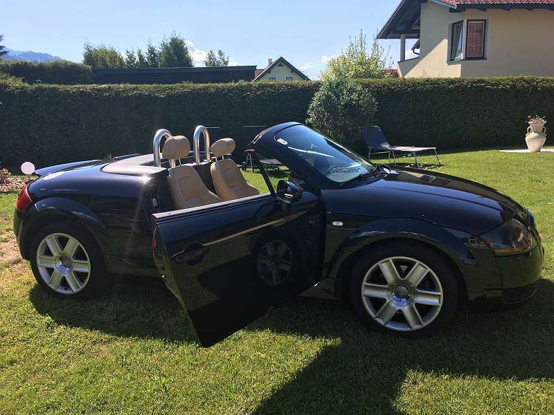verkauft audi tt roadster 1 8 t gebraucht 2004 km. Black Bedroom Furniture Sets. Home Design Ideas