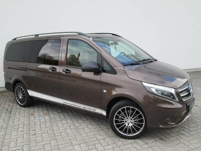 gebraucht tourer pro 114 cdi automatik allrad mercedes vito 2017 km in schalchen. Black Bedroom Furniture Sets. Home Design Ideas