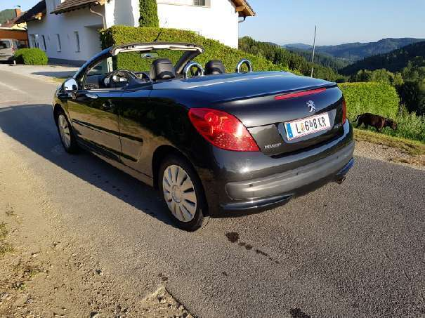 verkauft peugeot 207 cc cabrio roads gebraucht 2009 km in linz. Black Bedroom Furniture Sets. Home Design Ideas