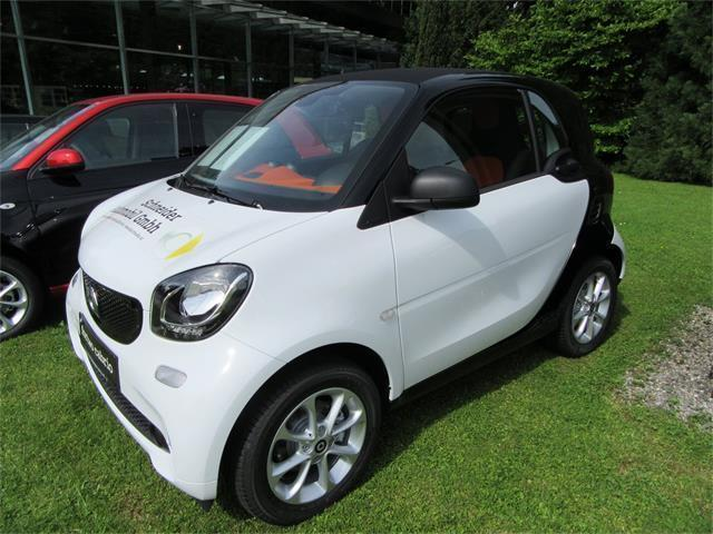 gebraucht twinamic neu 52kw smart fortwo coup 2016. Black Bedroom Furniture Sets. Home Design Ideas