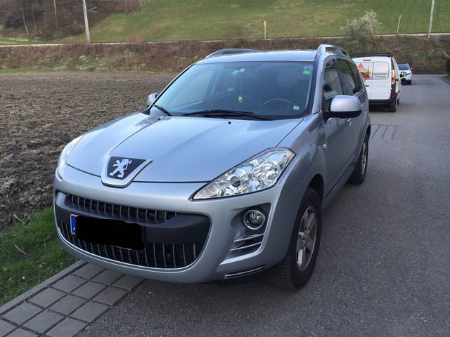 verkauft peugeot 4007 2 2 hdi 160 fap gebraucht 2008 km in feldkirch. Black Bedroom Furniture Sets. Home Design Ideas