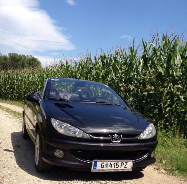 verkauft peugeot 206 cc 206 gebraucht 2005 km in graz. Black Bedroom Furniture Sets. Home Design Ideas