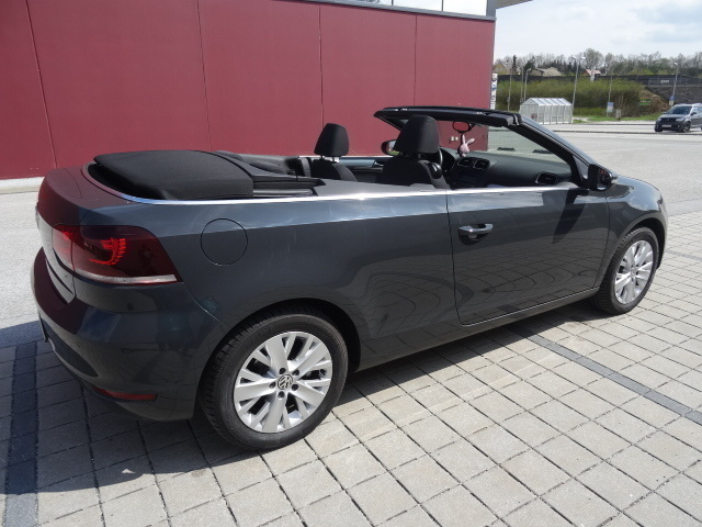 verkauft vw golf cabriolet cabrio 1 2 gebraucht 2013. Black Bedroom Furniture Sets. Home Design Ideas