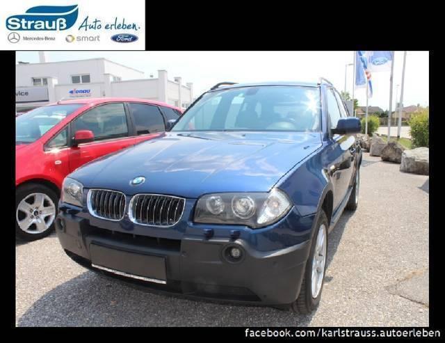 Verkauft bmw x3 3 0d aut kommissionsv gebraucht 2005 for Auto stockerau