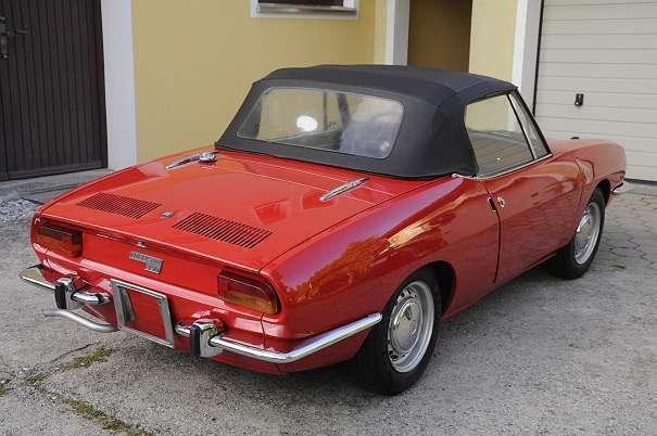 verkauft fiat 850 sport spider cabrio gebraucht 1972 km in ober grafendorf. Black Bedroom Furniture Sets. Home Design Ideas