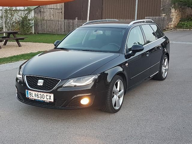 verkauft seat exeo sport st 2 0tdi kom gebraucht 2013 km in himberg. Black Bedroom Furniture Sets. Home Design Ideas