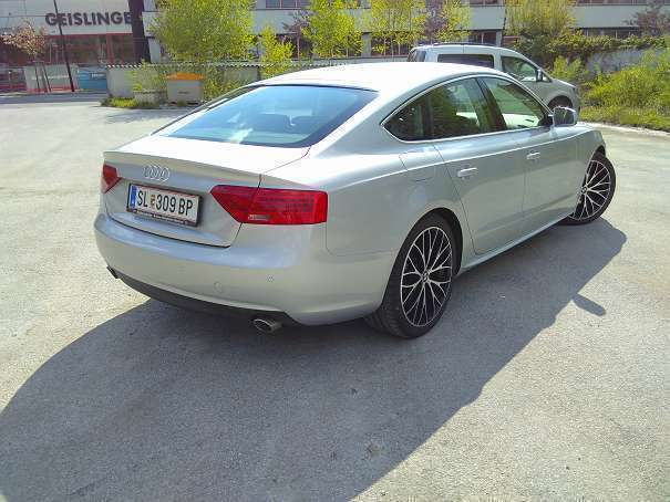 verkauft audi a5 sportback 3 0 tdi dpf gebraucht 2012. Black Bedroom Furniture Sets. Home Design Ideas