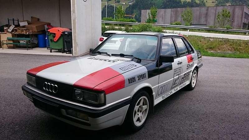 Verkauft Audi 80 1.8 GTE Sport Quattro., gebraucht 1985 ...