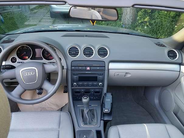verkauft audi a4 cabriolet cabrio 2 0 gebraucht 2007 km in gmunden. Black Bedroom Furniture Sets. Home Design Ideas