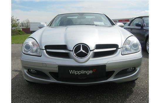 verkauft mercedes slk200 slk klassekom gebraucht 2007 km in leonding. Black Bedroom Furniture Sets. Home Design Ideas