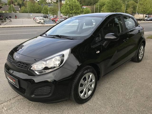 verkauft kia rio 1 2 cvvt motion top gebraucht 2012 km in bad hall. Black Bedroom Furniture Sets. Home Design Ideas