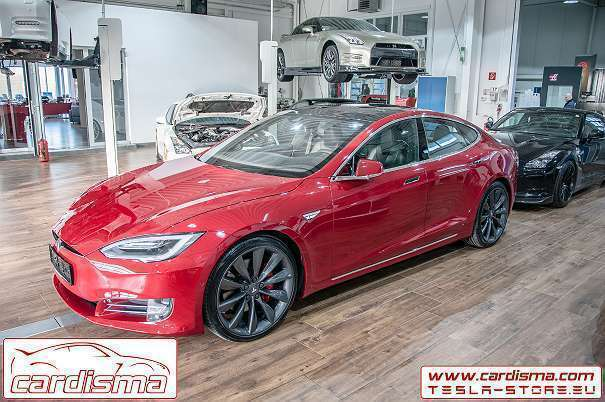 verkauft tesla model s p90d ludicrous gebraucht 2016 4. Black Bedroom Furniture Sets. Home Design Ideas