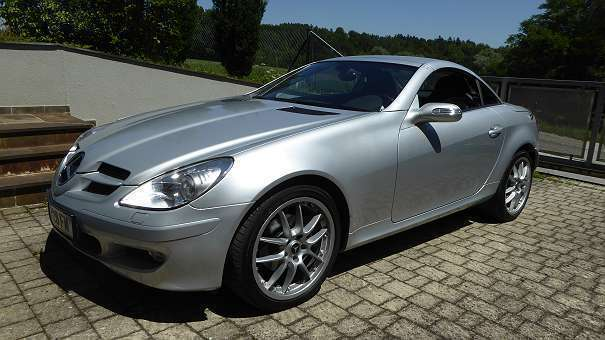 verkauft mercedes slk200 slk klasser17 gebraucht 2005. Black Bedroom Furniture Sets. Home Design Ideas