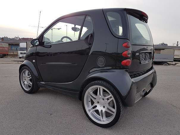 verkauft smart fortwo coup brabus 1 gebraucht 2002. Black Bedroom Furniture Sets. Home Design Ideas