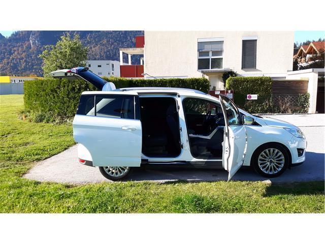 verkauft ford grand c max c maxtitaniu gebraucht 2012 km in weissach. Black Bedroom Furniture Sets. Home Design Ideas