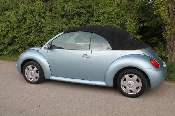 verkauft vw beetle beetle newcabrio gebraucht 2004. Black Bedroom Furniture Sets. Home Design Ideas