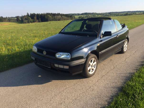 verkauft vw golf cabriolet cabrio mit gebraucht 1995 km in zwettl. Black Bedroom Furniture Sets. Home Design Ideas