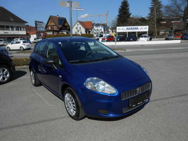 verkauft fiat grande punto 1 4 gran lu gebraucht 2009 km in rankweil. Black Bedroom Furniture Sets. Home Design Ideas