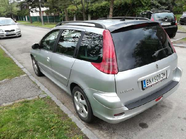 verkauft peugeot 206 sw 2 0 hdi kombi gebraucht 2004 km in baden. Black Bedroom Furniture Sets. Home Design Ideas