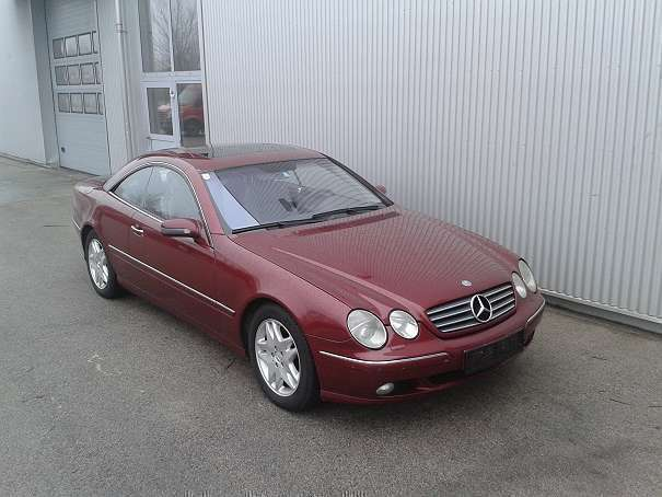 verkauft mercedes cl500 cl klassesport gebraucht 2000 km in wien. Black Bedroom Furniture Sets. Home Design Ideas