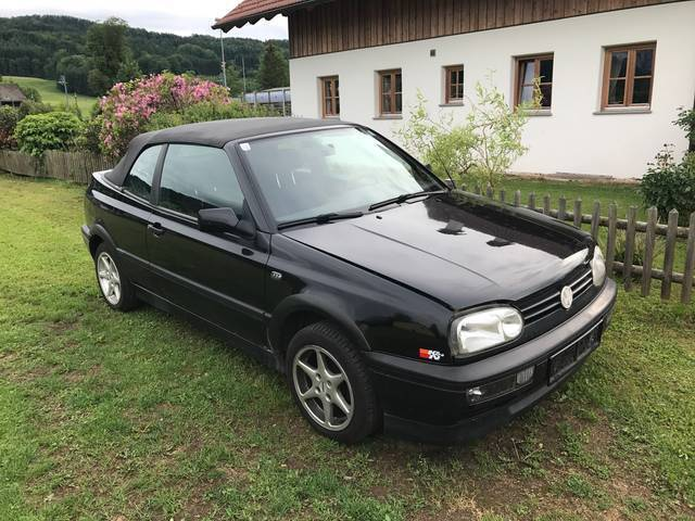 verkauft vw golf cabriolet cabrio ro gebraucht 1998 km in thalgau. Black Bedroom Furniture Sets. Home Design Ideas