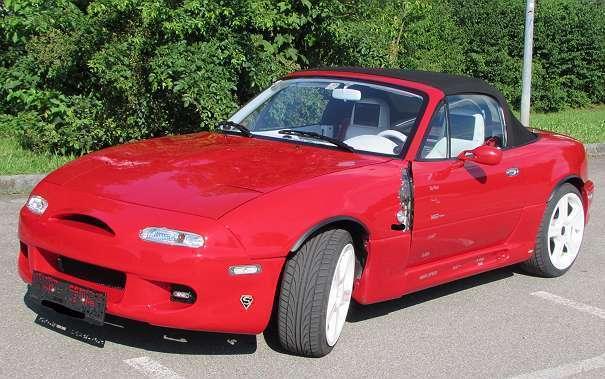 verkauft mazda mx5 cabrio roadster gebraucht 1991 97. Black Bedroom Furniture Sets. Home Design Ideas