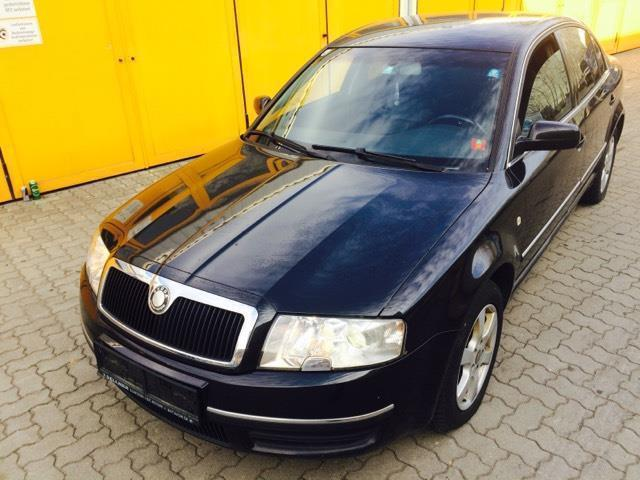 verkauft skoda superb elegance 1 9 tdi gebraucht 2003. Black Bedroom Furniture Sets. Home Design Ideas