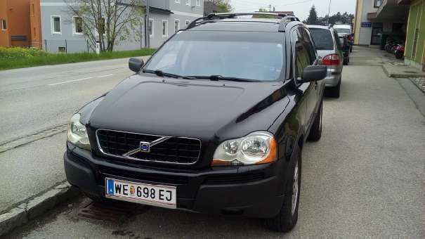 verkauft volvo xc90 d5 sitze 7 stand h gebraucht 2004 km in wels. Black Bedroom Furniture Sets. Home Design Ideas