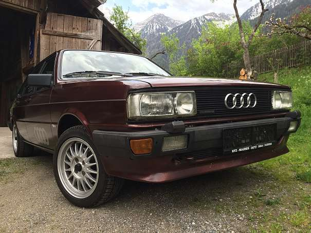 verkauft audi 80 quattro typ 85 limous gebraucht 1983 km in sautens. Black Bedroom Furniture Sets. Home Design Ideas