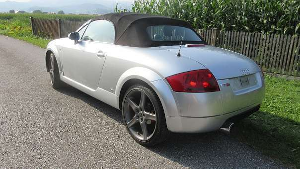 verkauft audi tt roadster roadstar 8n gebraucht 2001. Black Bedroom Furniture Sets. Home Design Ideas