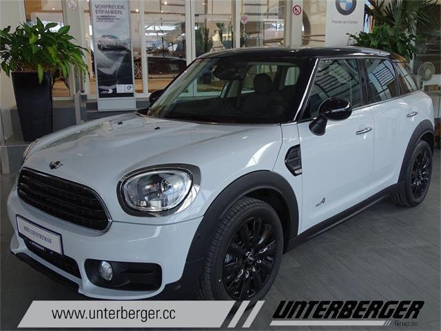 gebraucht all4 mini cooper d countryman 2017 km. Black Bedroom Furniture Sets. Home Design Ideas