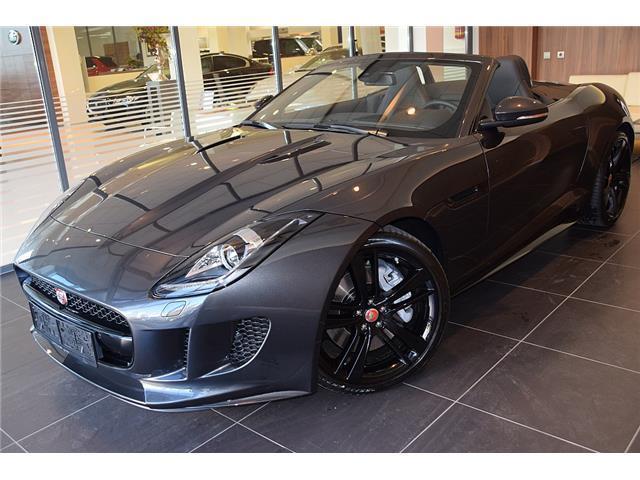 verkauft jaguar f type cabrio 3 0 aut gebraucht 2017 2. Black Bedroom Furniture Sets. Home Design Ideas