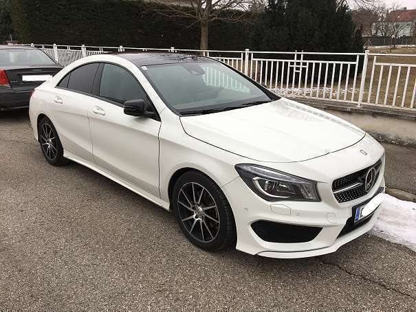 verkauft mercedes cla200 cla 200 gebraucht 2015 km in krems stein. Black Bedroom Furniture Sets. Home Design Ideas