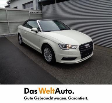 1 4 Gebraucht Audi A3 Cabriolet 2 0 Tdi Ambiente