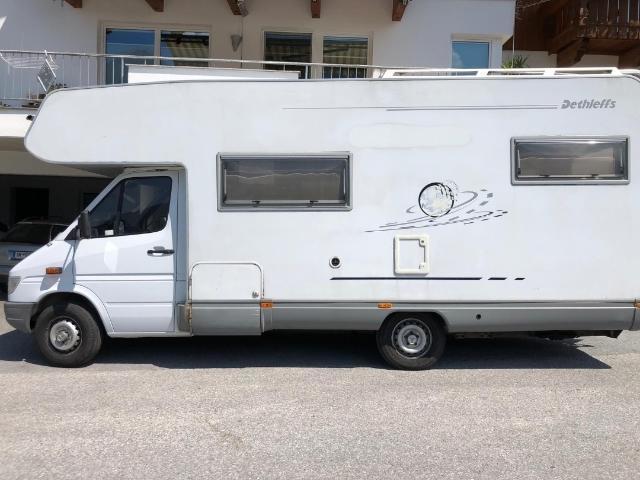 Verkauft Mercedes Sprinter Wohnmobil Gebraucht 1999 260 000 Km