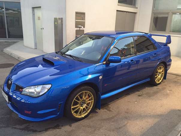 verkauft subaru impreza wrx sti limous gebraucht 2006 km in wien. Black Bedroom Furniture Sets. Home Design Ideas