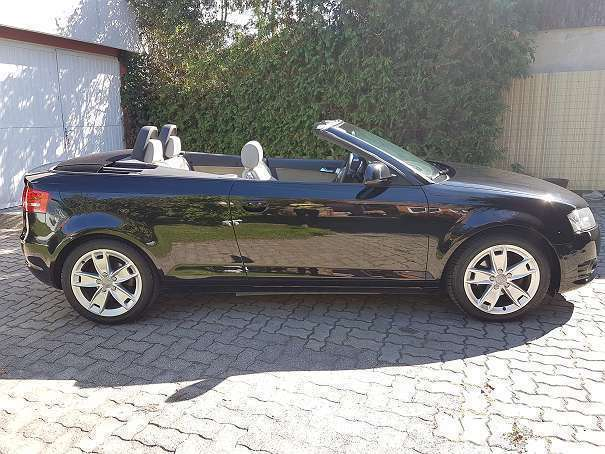 verkauft audi a3 cabriolet a3 1 9 tdi gebraucht 2008. Black Bedroom Furniture Sets. Home Design Ideas