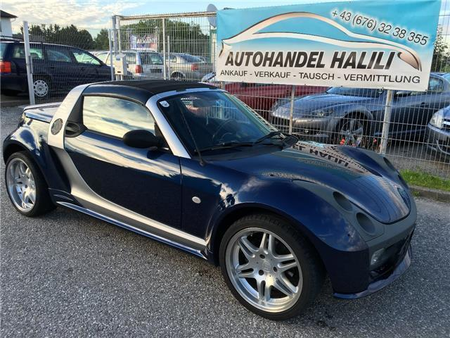 gebraucht brabus cabrio smart roadster 2003 km. Black Bedroom Furniture Sets. Home Design Ideas