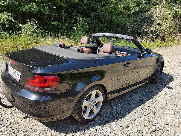 verkauft bmw 120 cabriolet 1er reihe d gebraucht 2008 km in maria laach am ja. Black Bedroom Furniture Sets. Home Design Ideas