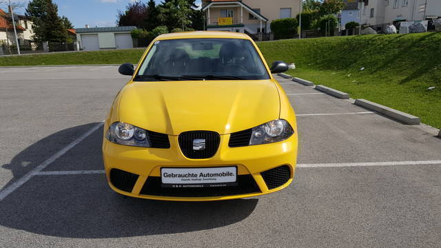 verkauft seat ibiza fresh 1 2 gebraucht 2008 km. Black Bedroom Furniture Sets. Home Design Ideas