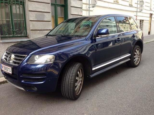 gebraucht suv offroad vw touareg 2006 km in wien bezirk. Black Bedroom Furniture Sets. Home Design Ideas
