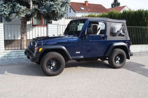 verkauft jeep wrangler tj 2 4 suv of gebraucht 2006 km in gerasdorf. Black Bedroom Furniture Sets. Home Design Ideas
