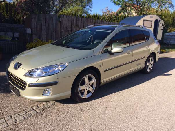 verkauft peugeot 407 sw 2 0 hdi 136 ps gebraucht 2005 km in sch rfling. Black Bedroom Furniture Sets. Home Design Ideas