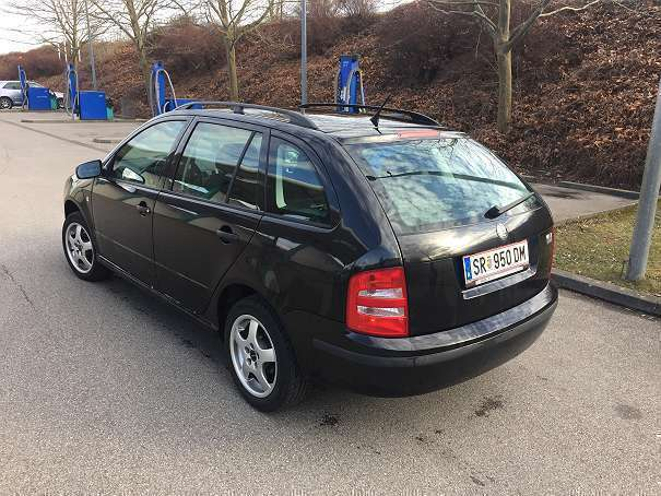 verkauft skoda fabia 1 9tdi kombi gebraucht 2003 km in steyr. Black Bedroom Furniture Sets. Home Design Ideas
