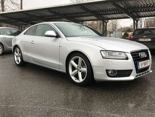 verkauft audi a5 2 7 tdi s line panora gebraucht 2008 km in graz. Black Bedroom Furniture Sets. Home Design Ideas