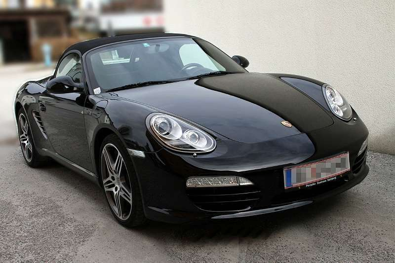 verkauft porsche boxster 987 cabrio gebraucht 2009 km in elsbethen. Black Bedroom Furniture Sets. Home Design Ideas