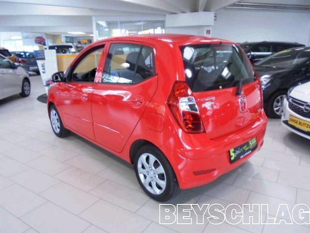 verkauft hyundai i10 1 25 comfort aut gebraucht 2012 23. Black Bedroom Furniture Sets. Home Design Ideas