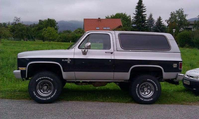 Verkauft Chevrolet Blazer K5 Suv Gel Gebraucht 1980 66 600 Km In Wien