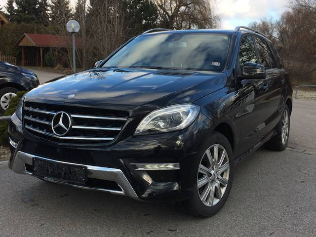verkauft mercedes ml350 bluetec 4matic gebraucht 2014. Black Bedroom Furniture Sets. Home Design Ideas