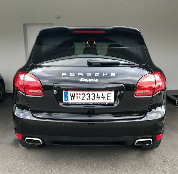 verkauft porsche cayenne 92a diesel su gebraucht 2012. Black Bedroom Furniture Sets. Home Design Ideas